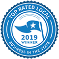 Top Rated Local 2019 award
